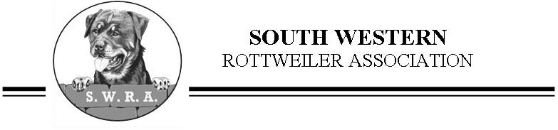 South West Rottweiler Association